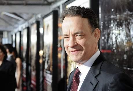 Z premiéry seriálu Pacific v L.A. - producent Tom Hanks